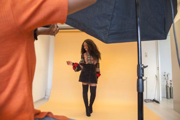 Behind the scene Ashlee Janelle Danso - #AJSTYLEGUIDE16 © Les Adu 2016