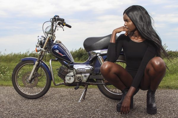 Biker Chick Photoshoot 2015 © Les Adu